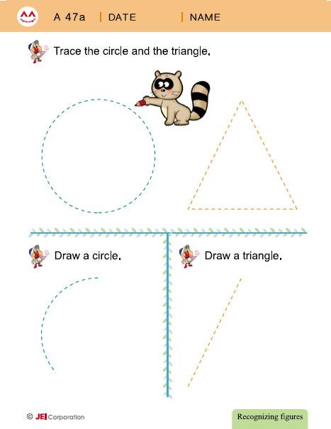 JEI WIlliamsburg math tutoring workbook example - Level A