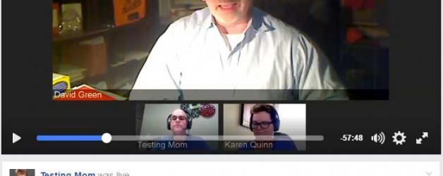 David Green as Guest on TestingMom.com G&T Webinar