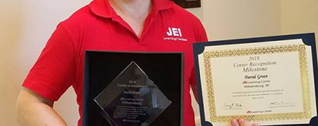 We Won The JEI Center of Excellence Award 2018